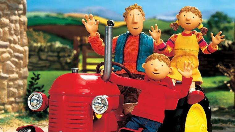 Copiii, în rolul de tractoriști (partea I)