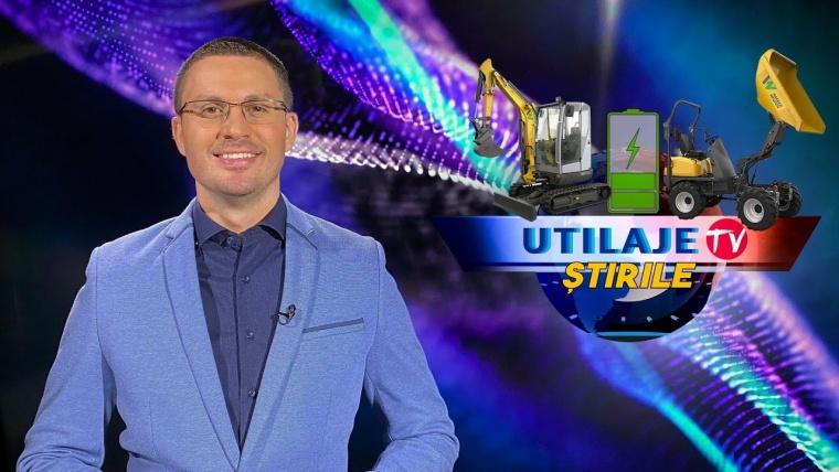 Știrile Utilaje TV | Ediția numărul 3