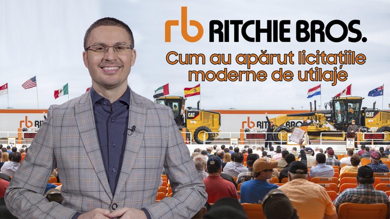 Ritchie Brothers și licitațiile de utilaje