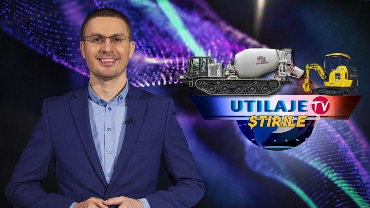 Știrile Utilaje TV | Ediția numărul 14