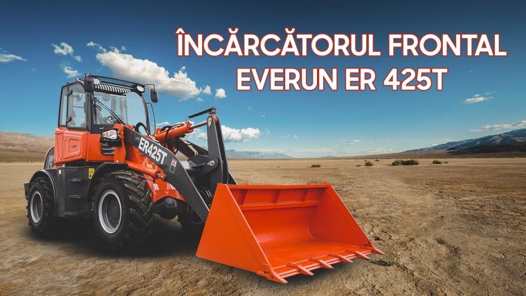 Încărcătorul frontal Everun ER 425T