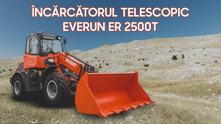 Încărcătorul telescopic Everun ER 2500T