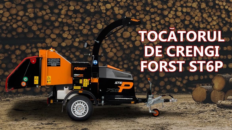 Tocătorul de crengi Forst ST6P