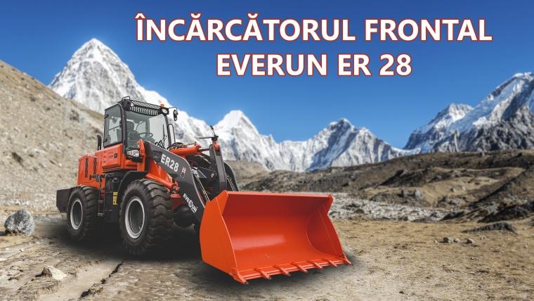Încărcătorul frontal Everun ER 28