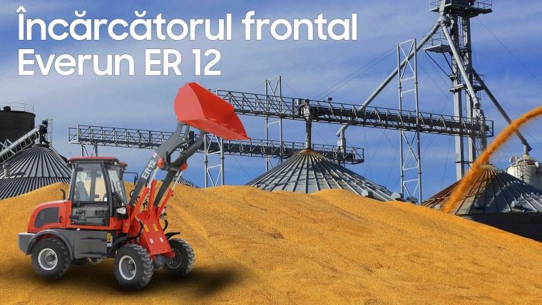Încărcătorul frontal Everun ER 12