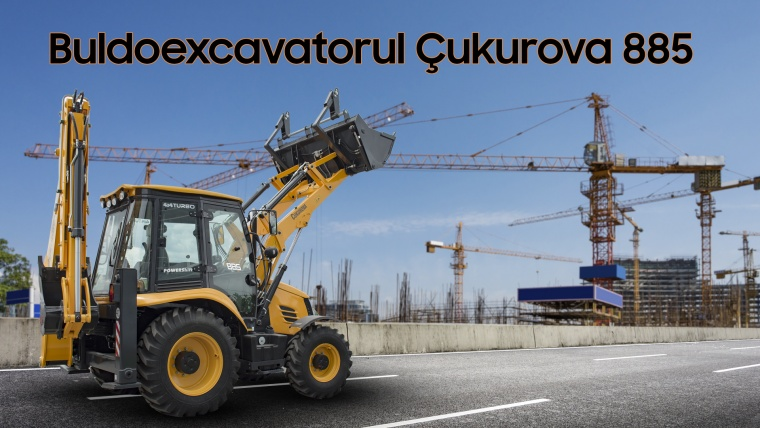 Buldoexcavatorul Çukurova 885