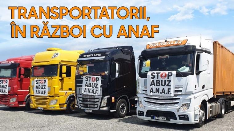 Revolta transportatorilor români