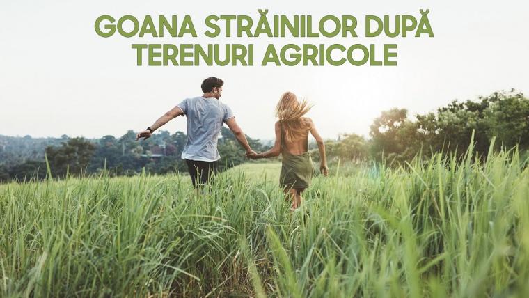 Țara nu se înstrăinează, doar terenurile agricole